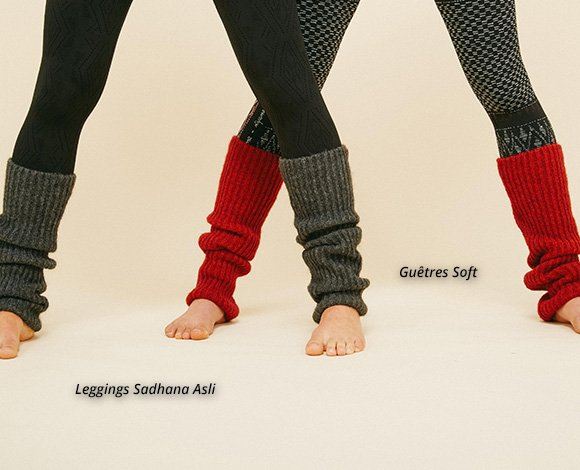 Leggings Sadhana Asli - Guêtres Soft