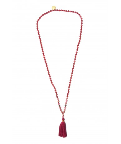 Collier MALA Rouge