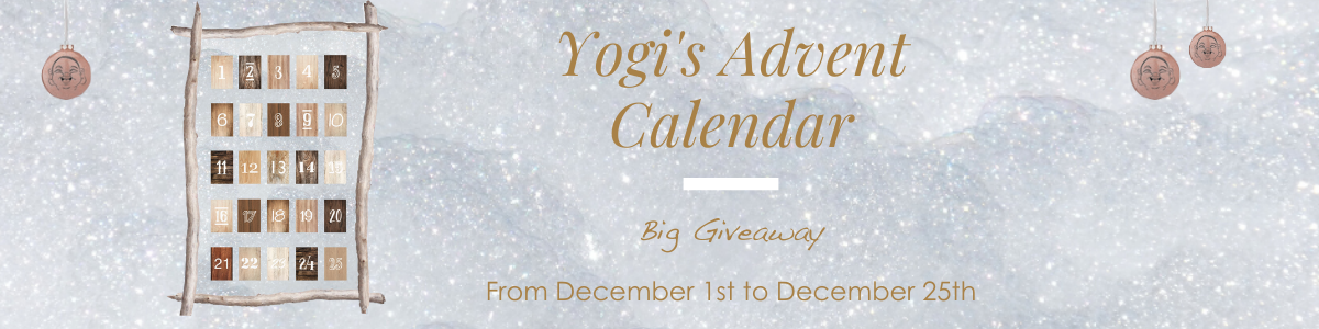 Yoga Searcher Advent calendar big giveaway