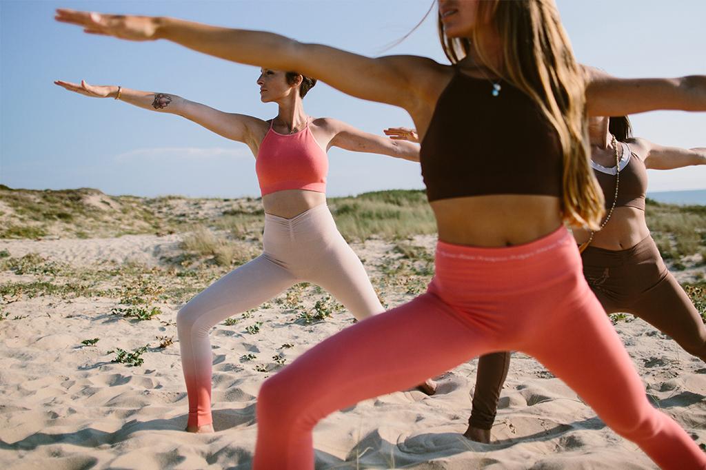 Séance de yoga avec Yoga Searcher aux Galeries Lafayette